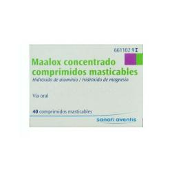 MAALOX 600mg/300mg (40comp)