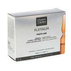 MARTIDERM PLATINUM PHOTO AGE (10 AMPOLLAS)