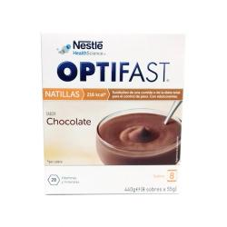 Natillas de Chocolate (8 sobres x 54g)