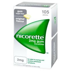 NICORETTE 2mg CHICLES MEDICAMENTOSOS