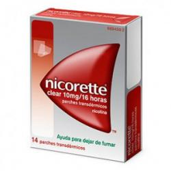 NICORETTE CLEAR 10mg/16 HORAS (14 Parches Transdérmicos)