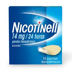 NICOTINELL 14mg/24 HORAS (14 parches)