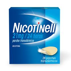 NICOTINELL 21 mg/24 HORAS (28 parches)