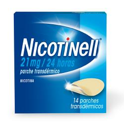 NICOTINELL 21mg/24 HORAS (14 parches)