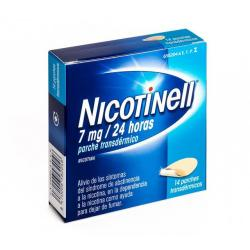 NICOTINELL 7 mg/24 HORAS (14 parches)