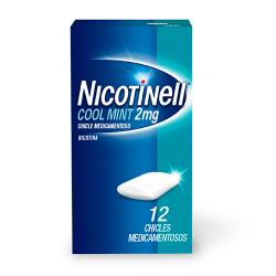 NICOTINELL COOL MINT 2mg (12 chicles)