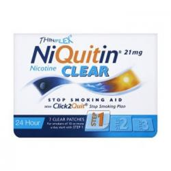 NIQUITIN CLEAR 7mg/24H  (7 PARCHES TRANSDÉRMICOS)
