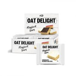 OAT DELIGHT FLAPJACK Choco Blanco/coco (16 barritas)