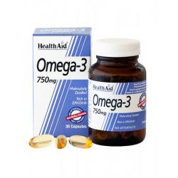 Omega 3 (750mg) + Vitamina E  (30caps)