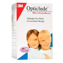 Opticlude Grande 5,7 x 8cm (20uds)