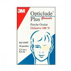 Opticlude Plus Grande 5,7 x 8,2cm (20uds)