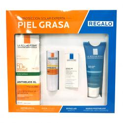 Anthelios PACK ANTI-BRILLOS  +Posthelios HIDRA GEL ANTIOXIDANTE + EFFACLAR DUO de REGALO!!