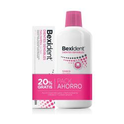 Pack BEXIDENT  DIENTES SENSIBLES Colutorio (500ml) + Pasta Dental (75ml)