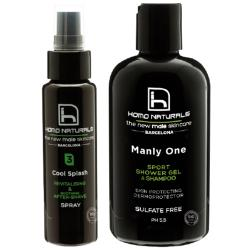 Pack Cool Splash (70ml) + Manly One (240ml)