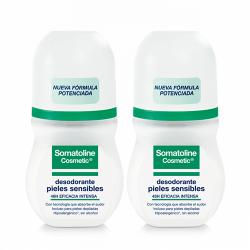 PACK Duo Desodorante Roll On Pieles Sensibles (50ml x 2 UNIDADES)