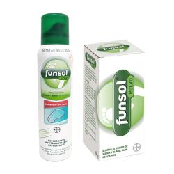 PACK FUNSOL® SPRAY OLOR DE PIES (150ML) + FUNSOL® POLVO (60G)