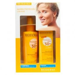 PACK Photoderm MAX:  Spray Corporal SPF50 (200ml) + Facial Aquafluide SPF50 (40ml)
