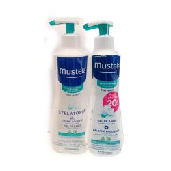 PACK STELATOPIA® CREMA EMOLIENTE (300ML) + GEL DE BAÑO (200ML)