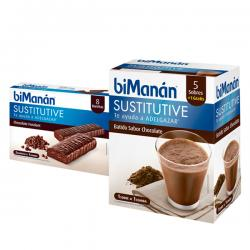 PACK Sustitutive BARRITA CHOCO + BATIDO CHOCO
