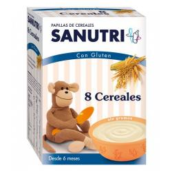 Papilla 8 Cereales (600g)