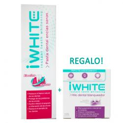 Pasta Dental Encías Sanas (75ml) + i White hilo dental REGALO!!