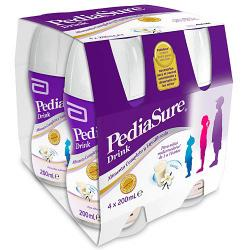 Pediasure Bebida de Vainilla (4x200ml)