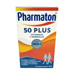 PHARMATON 50 PLUS (30 CÁPSULAS)