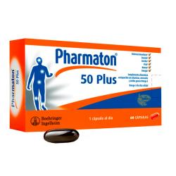 Pharmaton® 50 Plus -Antes CorActive (60caps)