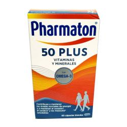 Pharmaton® 50 Plus OMEGA 3 (60caps)
