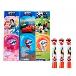 Recambio Cepillo Infantil Stages Power Kids (3uds)