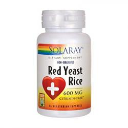 Red Yeast Rice - Levadura Roja de Arroz (45 vegcaps)