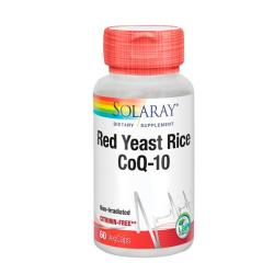 Red Yeast Rice Plus Q10 (60 vegcaps)