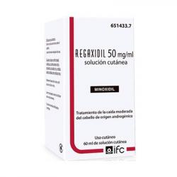 REGAXIDIL 50mg/ml SOLUCION CUTANEA (1 frasco de 60ml)