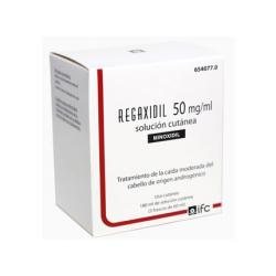 REGAXIDIL 50mg/ml SOLUCION CUTANEA (3 frascos de 60ml)