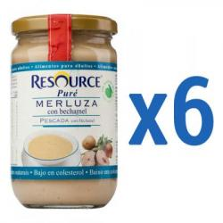 RESOURCE Puré Merluza con Bechamel (6x300g) - para Adultos
