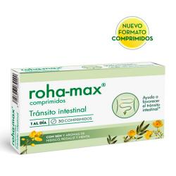 ROHA-MAX TRÁNSITO INTESTINAL 100% NATURAL (30COMP)