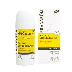Roll-on Citronela plus Leche corporal
