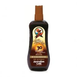 SPRAY GEL con BRONCES	SPF 30