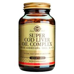 Super Cod Liver Oil Complex (60caps)