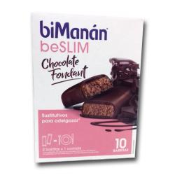 Sustitutive Barritas BeSLIM Chocolate Negro Fondant (10 barritas)