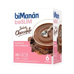 BESLIM Natillas Sabor Chocolate (6 sobres)