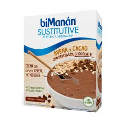 SUSTITUTIVE Crema Avena CACAO con Pepitas CHOCOLATE