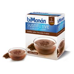 Sustitutive Natillas Sabor Chocolate (5 sobres)