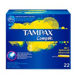 Tampax Compak Regular (22uds)