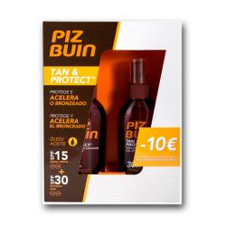 PACK TAN & PROTECT  ACEITE  SPF15 + SPF30