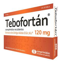 TEBOFORTAN 120mg (15 comp.recubiertos)