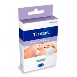 Tiritas Sensitive Elastic 6cmx1m (1 rollo)