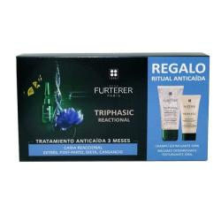 TRIPHASIC REACTIONAL (12 AMPOLLAS) + Bálsamo (30ML) + CHAMPÚ ESTIMULANTE (50ML) REGALO!
