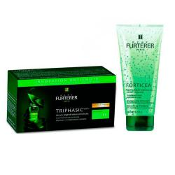 Triphasic VHT Suero Anti-Caída (8 Ampollas) + REGALO: Champú Forticea (200ml)