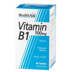 Vitamina B1-Tiamina 100mg (90comp)